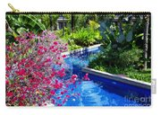 Tropical Garden Around Pool Carry-all Pouch