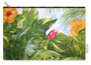 Tropical Garden Carry-all Pouch