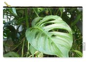 Tropical Green Foliage Carry-all Pouch