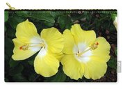 Tropical Hibiscus - Bonaire Wind 01 Carry-all Pouch