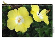 Tropical Hibiscus - Bonaire Wind 02 Carry-all Pouch