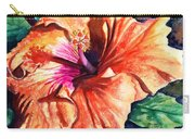 Tropical Hibiscus Carry-all Pouch