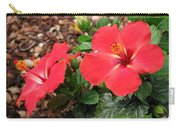 Tropical Hibiscus - Starry Wind 01 Carry-all Pouch