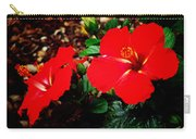 Tropical Hibiscus - Starry Wind 01a Carry-all Pouch