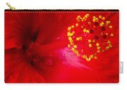 Tropical Hibiscus - Trinidad Wind 02a Carry-all Pouch