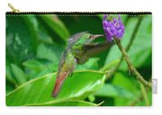 Tropical Hummingbird Carry-all Pouch