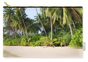 Tropical Island Beach Scenery Carry-all Pouch