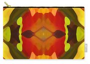 Tropical Leaf Pattern 17 Carry-all Pouch