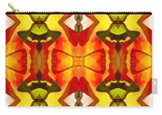 Tropical Leaf Pattern 7 Carry-all Pouch