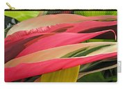Tropical Leaves Abstract 3 Carry-all Pouch