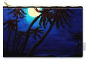 Tropical Moon On The Islands Carry-all Pouch