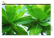 Tropical Noni Leaves Carry-all Pouch