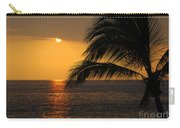 Tropical Ocean Sunset Carry-all Pouch