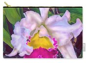 Tropical Orchid Carry-all Pouch