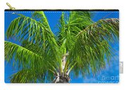 Tropical Palm Portrait Carry-all Pouch