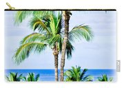Tropical Palm Trees In Hawaii Carry-all Pouch