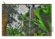 Tropical Paradise Falling Waters Buffalo Botanical Gardens Series   Carry-all Pouch
