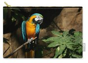 Tropical Parrot Carry-all Pouch