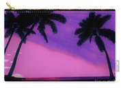 Tropical Pink Sunset Carry-all Pouch