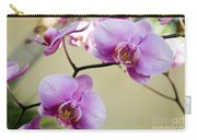 Tropical Radiant Orchid Flowers Carry-all Pouch