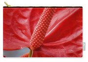 Tropical Red Anthurium Carry-all Pouch