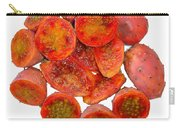 Tropical Red Prickly Pear Fruit  Carry-all Pouch