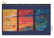 Tropical Trance Triptych Carry-all Pouch