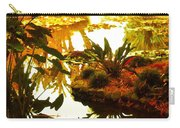 Tropical Water Garden Carry-all Pouch
