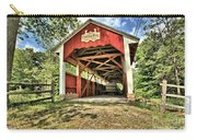 Trostle Town Covered Bridge Carry-all Pouch