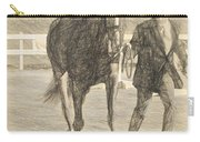 Trot Out Drawn Carry-all Pouch