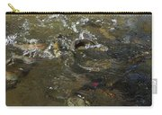 Trout Feeding Surface Rainbow Trout Art Prints Carry-all Pouch