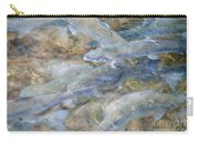 Trout Pond Abstract Carry-all Pouch