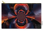 Trucker Sunset Illusion Carry-all Pouch