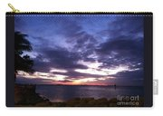 True Blue Sunset Carry-all Pouch