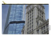 Trump And Wrigley Facades Carry-all Pouch