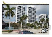 Trump Plaza In Downtown West Palm Beach Skyline Carry-all Pouch