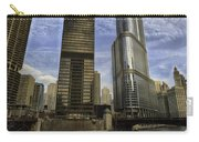 Trump Tower And River Front Carry-all Pouch