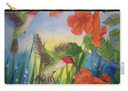 Trumpet Vine Fantasy Carry-all Pouch