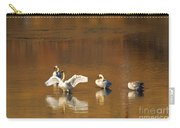 Trumpeter Ballet Carry-all Pouch by Mike  Dawson