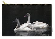 Trumpeter Swan Cygnets Carry-all Pouch