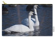 Trumpeter Swan Pair Carry-all Pouch
