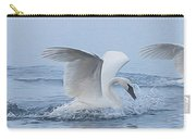 Trumpeter Swans Touchdown Carry-all Pouch