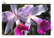 Trumpeting Purple Cattleya Orchids Carry-all Pouch