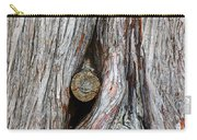 Trunk Knot Carry-all Pouch by Carlos Caetano