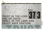 Trust In The Lord- Contemporary Christian Art Carry-all Pouch