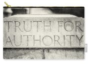 Truth For Authority Lucretia Mott  Carry-all Pouch