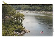 Tubing On The Potomac River At Harpers Ferry Carry-all Pouch