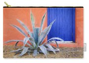 Tucson Barrio Blue Door Painterly Effect Carry-all Pouch