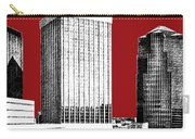 Tucson Skyline 1 - Dark Red Carry-all Pouch