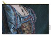 Tudor Woman In Profile Carry-all Pouch